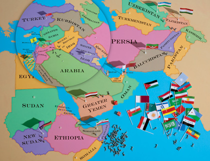 The Empire\'s New Middle East Map: ethnic cleansing and petroleum ...