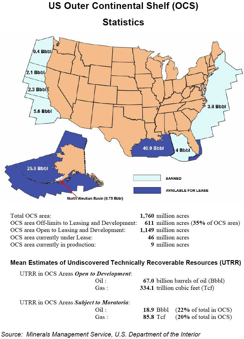 This Map Shows Figures For Oil That Might Be Discovered Some Day Or Might Not